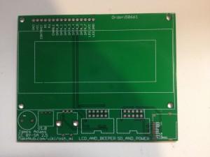 OSH_MI PCB Front