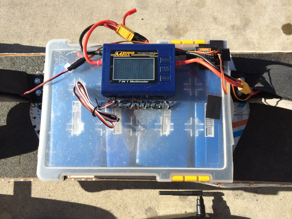 Watt Meter and Battery Pack